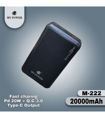 Mypower 20000mah M222 Powerbank